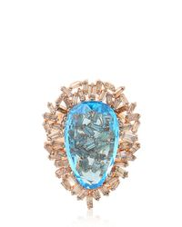Suzanne Kalan - Blue Vitrine Ring - Lyst