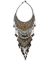 Philippe Audibert | Metallic Suzan Silverplated Necklace | Lyst