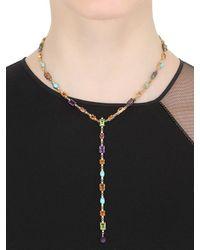 Roberto Marroni - Metallic Happy Queen Colors Necklace - Lyst
