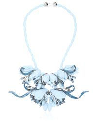 EK Thongprasert | Blue Ikebanana Flower Silicone Necklace | Lyst