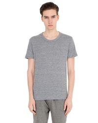 Alternative Apparel | Gray Eco-jersey Crewneck T-shirt for Men | Lyst