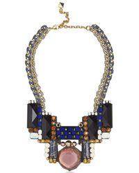 Nocturne | Metallic Bruna Necklace | Lyst
