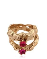 Voodoo Jewels - Metallic Desertica Lut Ring - Lyst
