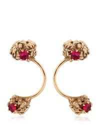 Voodoo Jewels - Metallic Artica Open Ice Earrings - Lyst