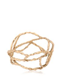 Voodoo Jewels | Metallic Reptilia Maxi Bangle Bracelet | Lyst