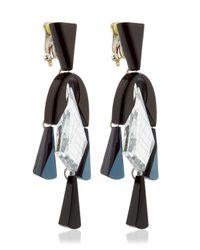 Silvia Rossi - Blue Ballet Earrings - Lyst
