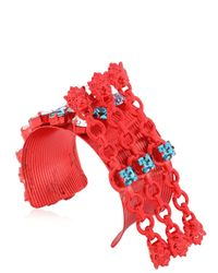 Halaby - Red Cuff Leo - Lyst