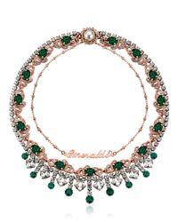 Mawi | Green Rebel Royal Necklace | Lyst