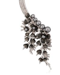 Schield - Metallic Cyborg Flowers Necklace - Lyst