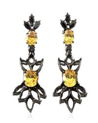Iosselliani | Black All That Jewelry! Demi Hollow Earrings | Lyst