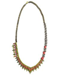 Iosselliani | Metallic All That Jewelry! Asymmetrical Necklace | Lyst