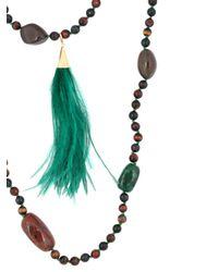 Rosantica - Green Bosco Necklace - Lyst