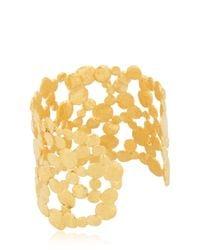 Herve Van Der Straeten - Metallic Pepite Bracelet - Lyst