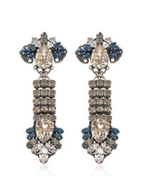 Anton Heunis | Blue Rebel Earrings | Lyst