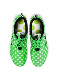 Nike - Green Roshe Nm Polka Dot Nylon Sneakers for Men - Lyst