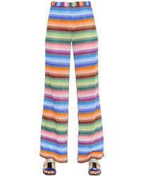 Missoni | Multicolor Striped Viscose Knit Pants | Lyst