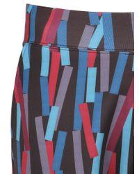 Christopher Kane - Multicolor 3d Bolster Printed Neoprene Shorts for Men - Lyst