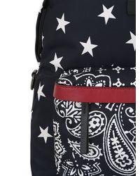 Moncler - Blue Romeo Star & Paisley Printed Backpack for Men - Lyst