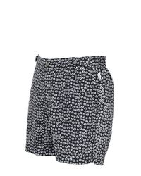 Danward | Black Printed Breathable Nylon Swimming Shorts for Men | Lyst