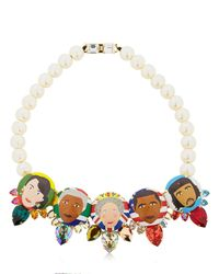 Bijoux De Famille - Multicolor Rule Me Necklace - Lyst