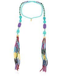 Katerina Psoma | Blue Bar On The Beach Necklace | Lyst