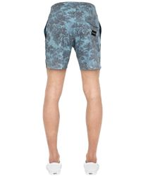 "Quiksilver - Gray Sunset Tunnels Scallop 17"" Boardshorts for Men - Lyst"