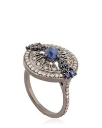 Jade Jagger - Blue Stellar Ring - Lyst