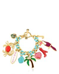 Juicy Couture - Metallic Ipanema Toucan Bracelet - Lyst