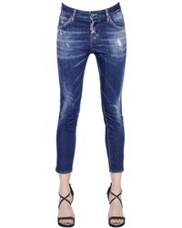 DSquared² | Blue Cool Girl Washed Denim Jeans | Lyst