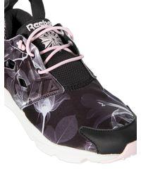 Reebok - Multicolor Furylite Graphic Printed Nylon Sneakers - Lyst