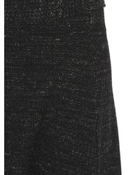 Transit - Black Viscose Wool Melange Knit - Lyst