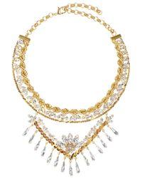 Shourouk | Metallic Calypso Necklace | Lyst