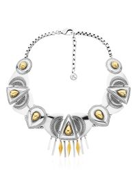 La Perla | Metallic Arya Necklace | Lyst