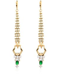 Iosselliani | Metallic Anubian Drop Earrings | Lyst