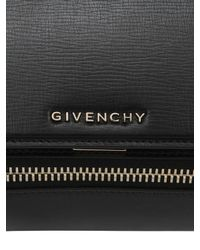 Givenchy | Black Mini Pandora Box Smooth Leather Bag | Lyst