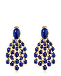 Aurelie Bidermann | Blue Cherokee Lapis Earrings | Lyst