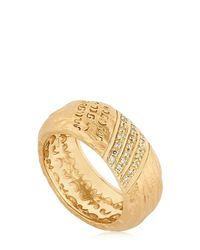 Marco Ta Moko | Metallic The Other Half Ring With Diamonds | Lyst