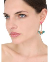 Vernissage Jewellery - Metallic Butterfly Earrings - Lyst