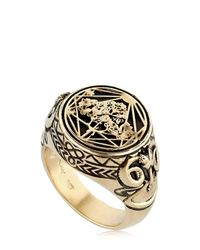 Meadowlark | Metallic Ram Chevalier Ring | Lyst