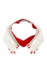 Vivetta | Platano Embroidered Lace Collar | Lyst