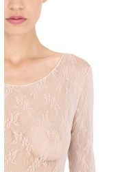 Pierre Mantoux - Multicolor Lace Bodysuit - Lyst