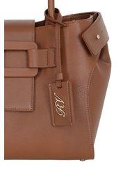 Roger Vivier | Brown Small Pilgrim De Jour Leather Bag | Lyst