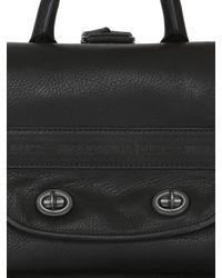 Mandarina Duck - Black Kyoto Leather Backpack - Lyst