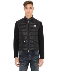 Moncler | Black Gui Quilted Nylon Down Vest for Men | Lyst