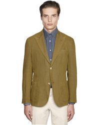 Boglioli   Green Irish Linen Canvas K Jacket for Men   Lyst