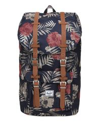 Herschel Supply Co. | Blue Little America Nylon Backpack for Men | Lyst