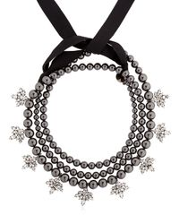 Ellen Conde | Brilliant Jewelry Black Pearl Necklace | Lyst