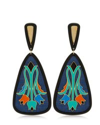 Anna E Alex | Green Tulipano Earrings | Lyst