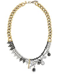 Iosselliani | Metallic Optical Memento Crystal Necklace | Lyst