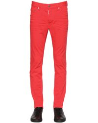 DSquared² | Red 16.5cm Cool Guy Stretch Denim Jeans for Men | Lyst